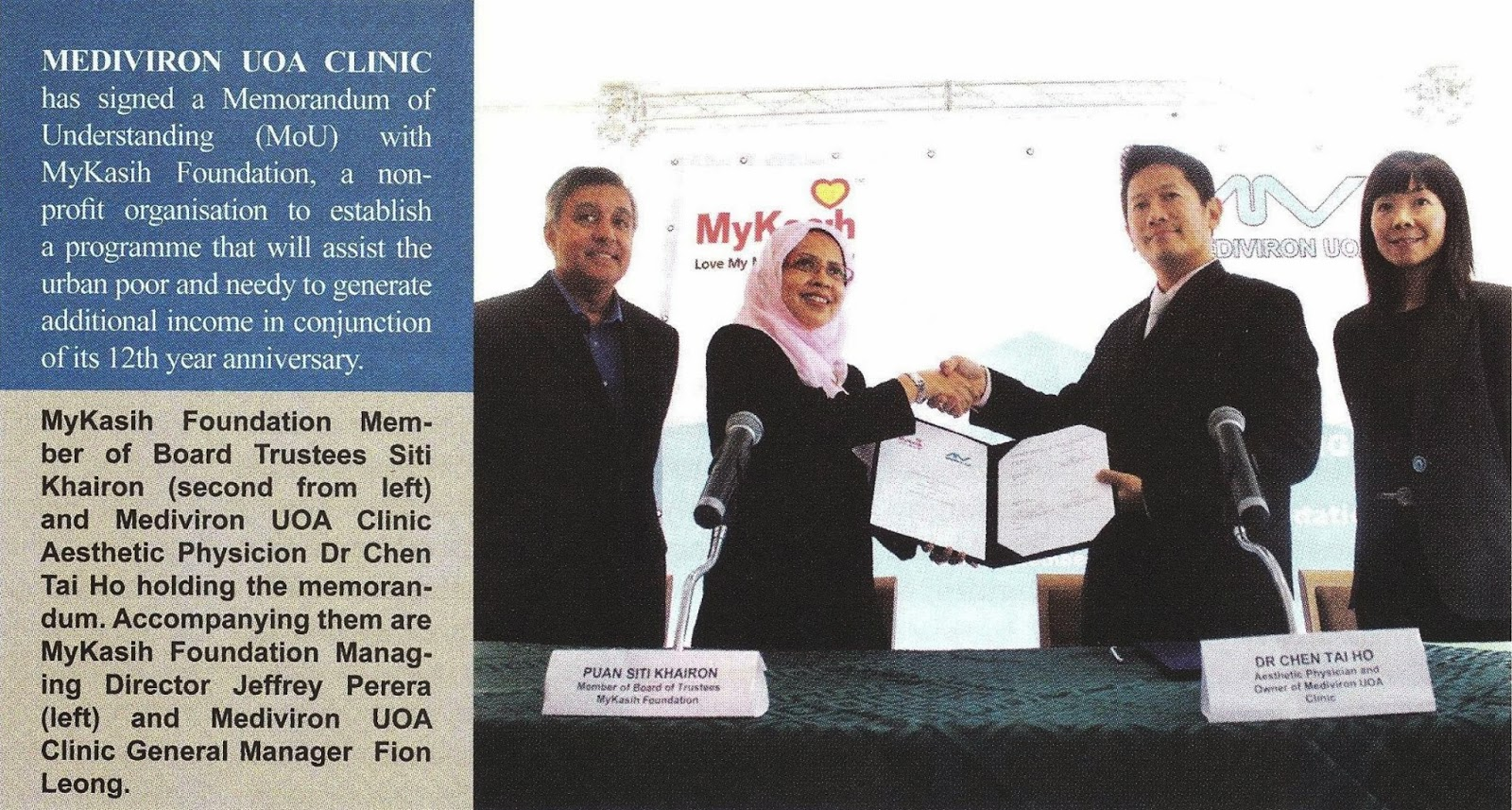 201310_SME Malaysia_SME Events - Mediviron UOA Clinic
