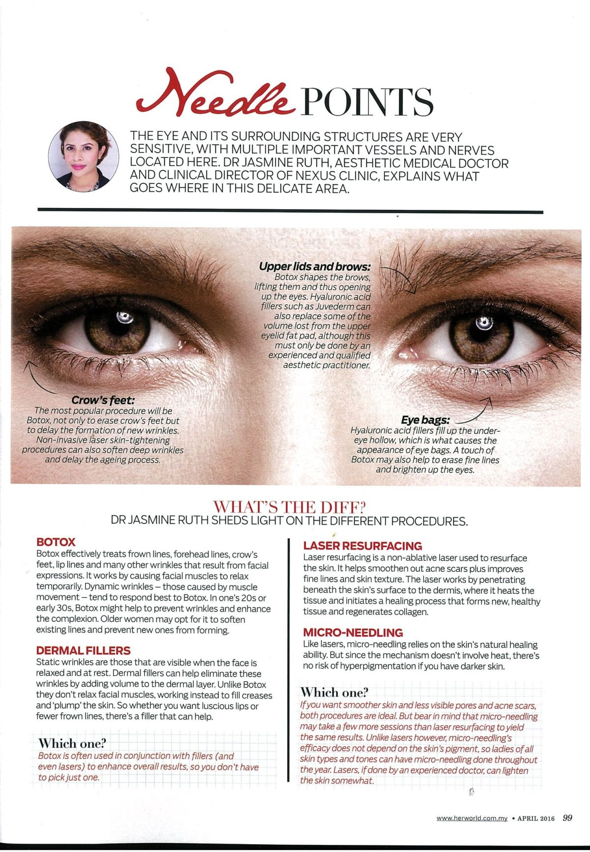 Treat Your Face With Dermal Fillers Non Invasive Laser And
